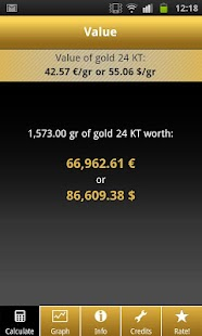 Gold Price Calculator Live - screenshot thumbnail