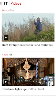 Irish Times News- screenshot thumbnail