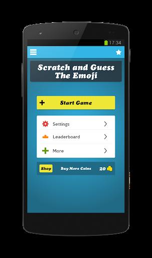Scratch Emoji Logo Quiz