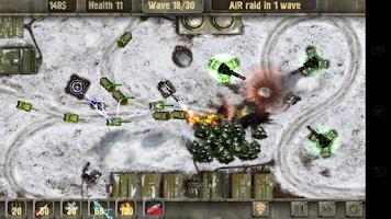 Screenshot of Defense Zone HD