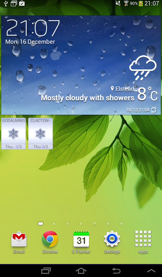 ColdSnap! Frost Alarm - screenshot