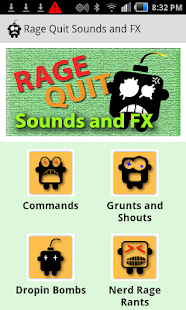 Rage Quit Sounds and FX- screenshot thumbnail