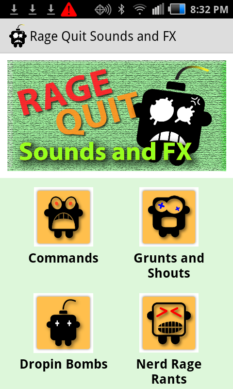 Rage Quit Sounds and FX - screenshot
