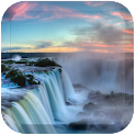 Waterfall Rainbow Lwp icon