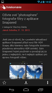 Dotekománie.cz - screenshot thumbnail