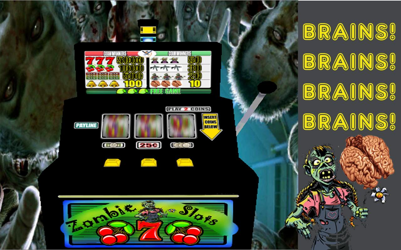 slot machine zombie