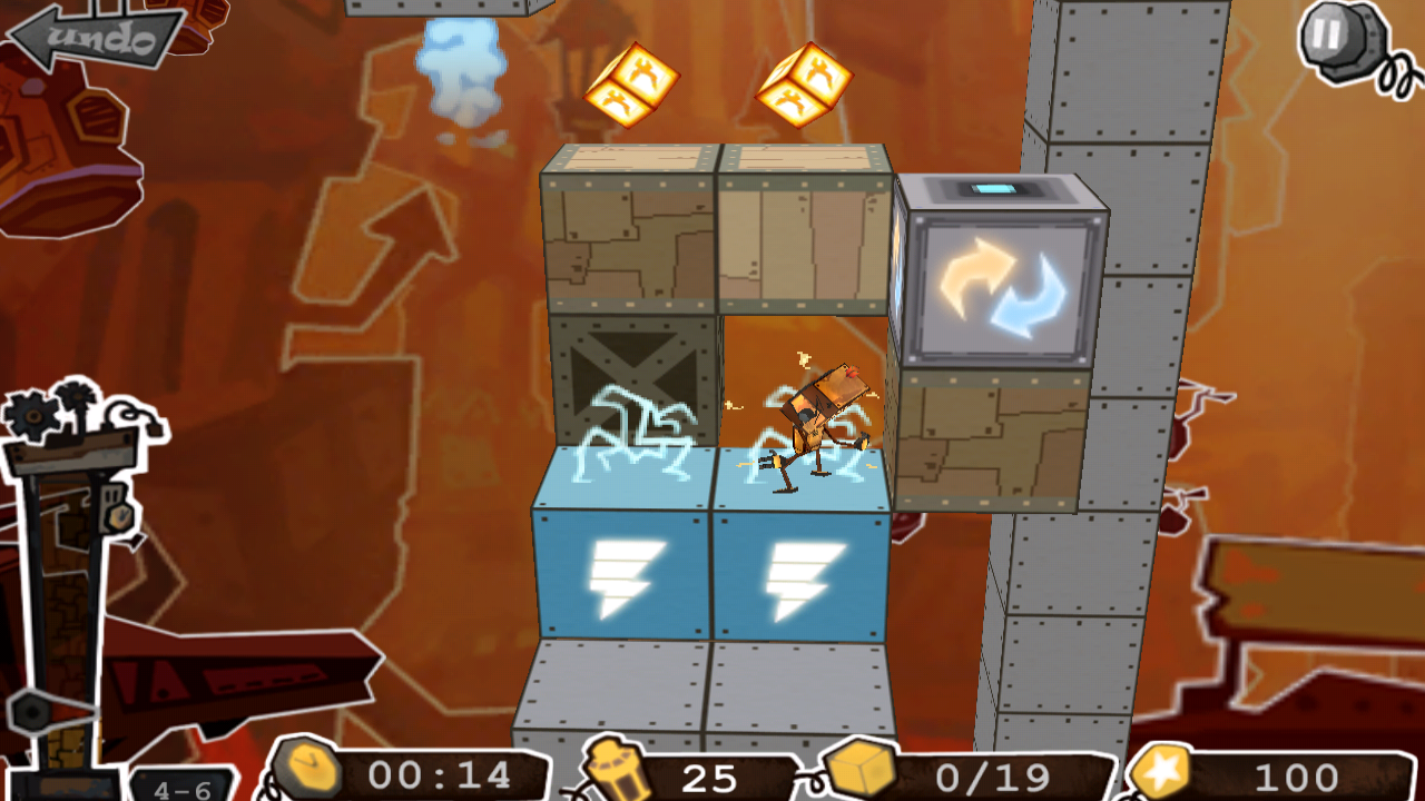 Robo5: 3D Action Puzzle- screenshot