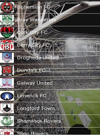 League of Ireland 20 Clubs