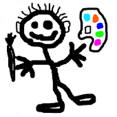 Finger painting for kids