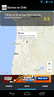 Sismos en Chile- screenshot thumbnail