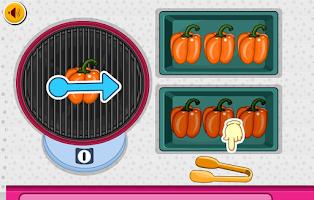Screenshot of Fajita Burger Maker