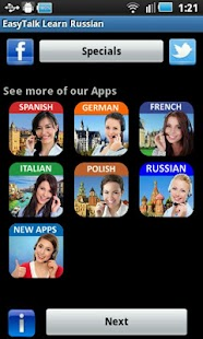 EasyTalk Learn Russian Free - screenshot thumbnail