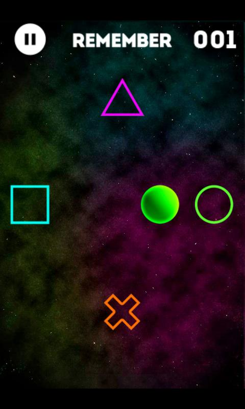 Flick Shapes - screenshot