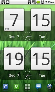 Sense Analog Clock Widget v4.2.3