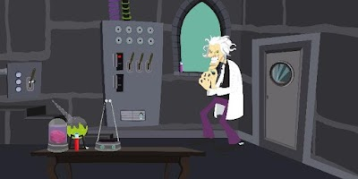 Screenshot of EscapeGame N34 - Scientist Lab
