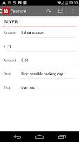 Screenshot of Sparkron Mobilebank