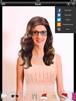 Screenshot of Primerun photo dressing chat