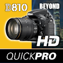 Nikon D810 Beyond by QuickPro icon