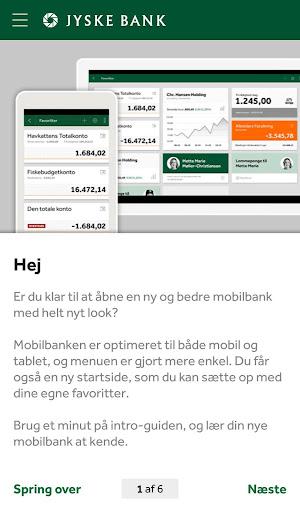 Jyske Mobilbank med Swipp