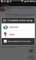 Screenshot of Koko