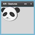 AIR Gestures demo logo