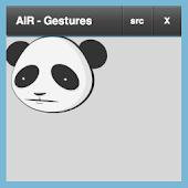AIR Gestures demo