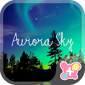icon & wallpaper-Aurora Sky-