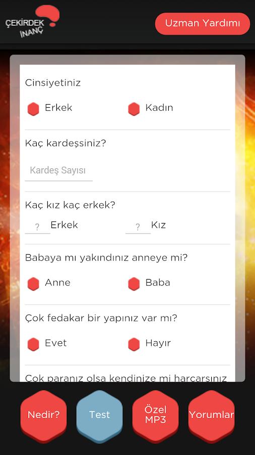 Çekirdek İnanç- screenshot