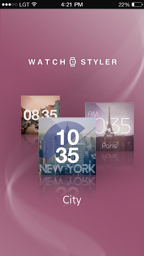 Watch Face Gear - City