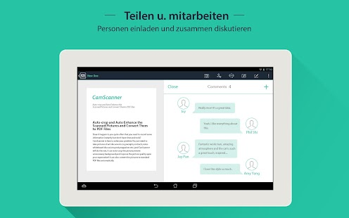 CamScanner (License) – Miniaturansicht des Screenshots