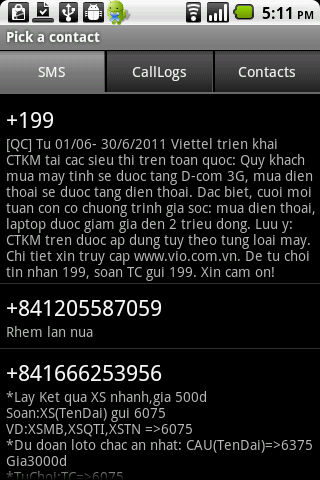 Anti SMS Spam & Private Box- screenshot