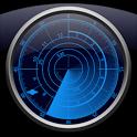 Radar Clock LWP Navy icon