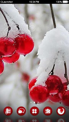 Snowy Cherry Theme
