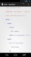 Screenshot of Axel (XML Editor / Viewer)