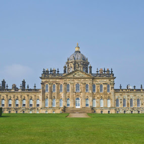 Here is a photograph taken from outside Castle Howard.  Located in York, Yorkshire, England, UK. by Michael D Beckwith - Buildings & Architecture Public & Historical