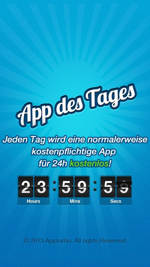 App des Tages - 100% Gratis - screenshot