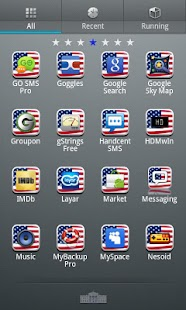USA GO Launcher EX Theme- screenshot thumbnail