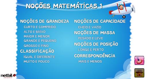 Noções Matemáticas 1