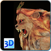 3D Narasimha 3D Lion Wallpaper