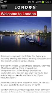 London Official Events Guide - screenshot thumbnail