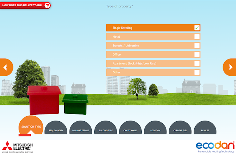 Ecodan Selection Tool- screenshot thumbnail