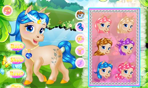 Princess & Magic Unicorn - náhled
