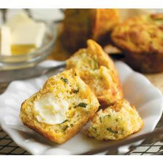 Zucchini Corn Bread Muffins
