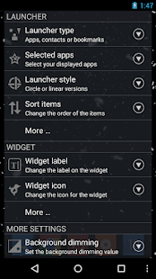 CircleLauncher light - screenshot thumbnail