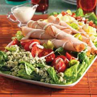 Turkey Club Salad.