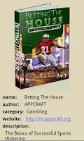 Screenshot of Betting The House