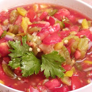 Roasted Serrano Salsa recipe – 46 calories