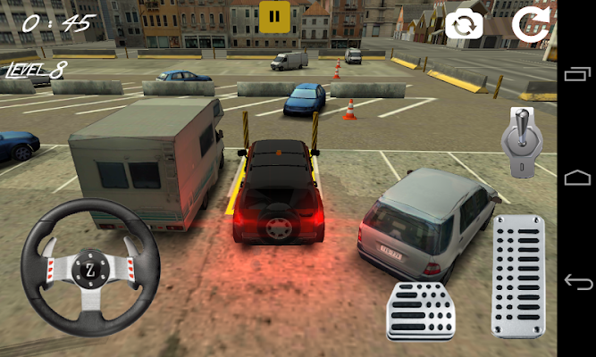 Furious Hummer Parking Fever - screenshot