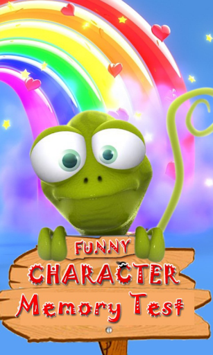 Funny Characters Memory Test