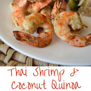 Thai Shrimp and Coconut Quinoa Salad #EastMadeEasy